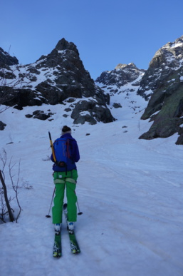 Punta Minuta par bocca rossa et ski à la pampanosa