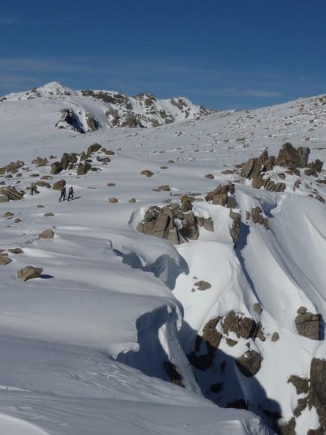 A l'approche du sommet