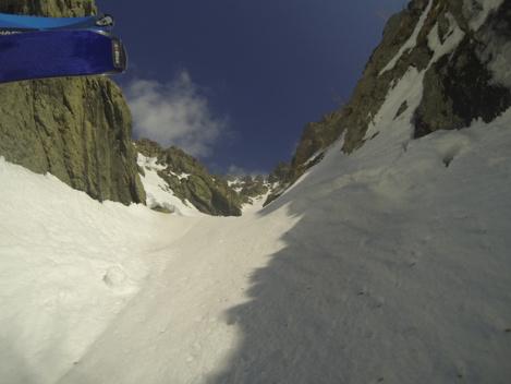 Monte d Oro couloir sud Ouest