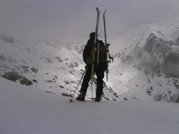 Migliarella en ski