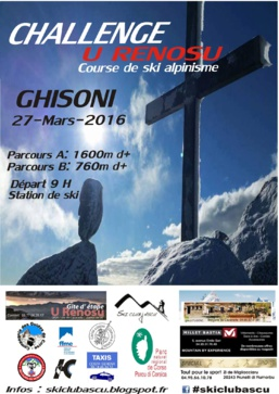 1er Challenge U Renosu 2016
