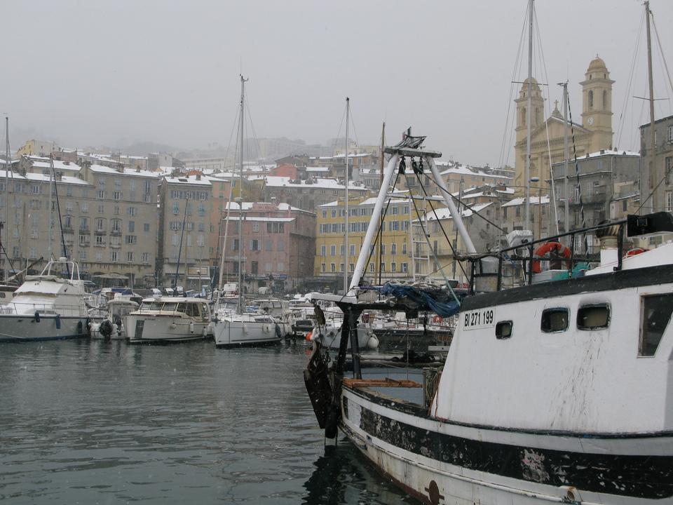 BASTIA Vieux Port
