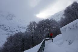 Le refuge de l'onda en hiver