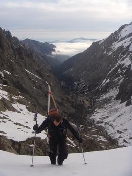Lombarducciu par le versant Bocca di u Chiostru