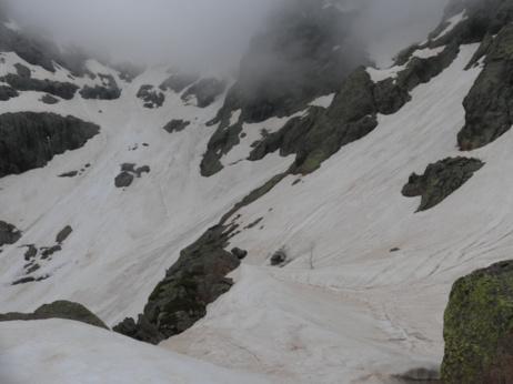 Le grand glacier du Trinbulacciu