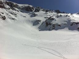Monte Rotondo puis descente dans le vallon de Riviseccu
