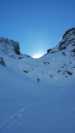 Col du vallon par Asco