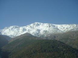 Face sud-est de La Lattiniccia et du Cardo