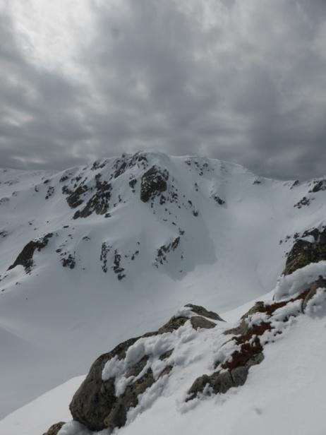 Ski moquette sur le Renosu