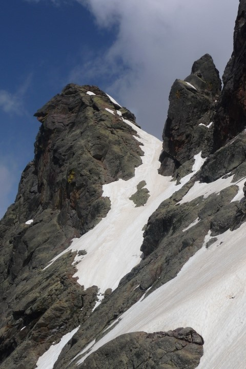 Couloir bréche larghia