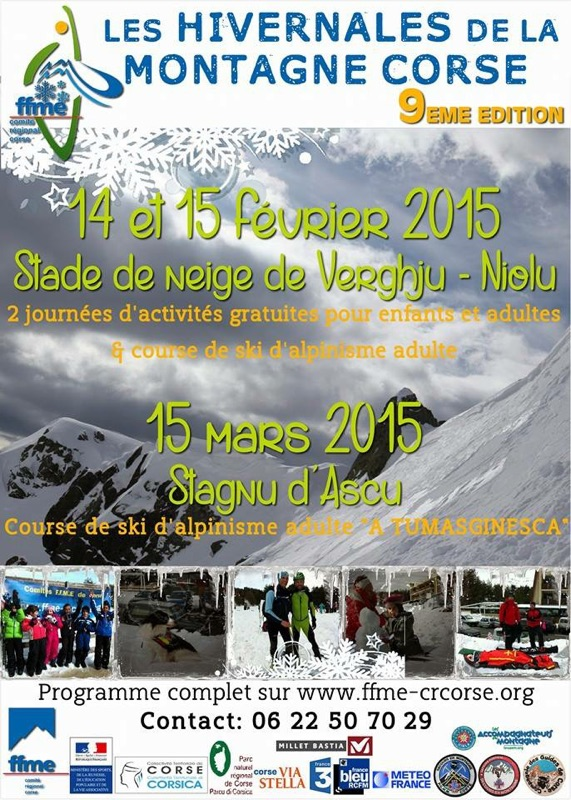 Les hivernales à Vergio 2015